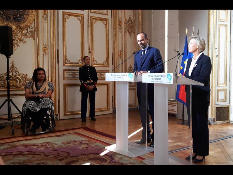 Comité interministériel du Handicap : Edouard Philippe lance les travaux, des annonces santé en 2018