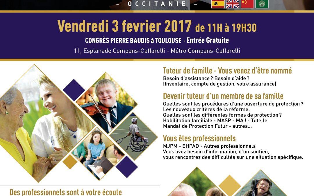 3ème salon des tuteurs de famille à Toulouse